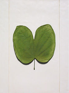 Wall-Mounted Resin Ancient Apricot Leaf-Sample for Home Decoration / Hotel Decoration