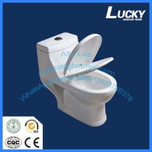 Hotsell Washdown Cheap One Piece Toilet with a-Grade Quality Bathroo Design Toilet pictures & photos