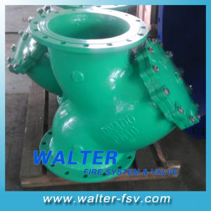 Cast Iron Flanged Y Strainer Valve pictures & photos