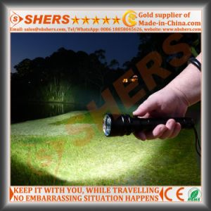 Rechargeable Solar 1W LED Flashlight, Outdoor Light (SH-1918A) pictures & photos