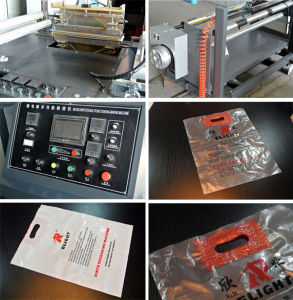 Factory Direct Plastic Carry Bag Making Machine Bag Maker pictures & photos