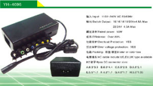 96W Universal Notebook Adapter (12V-24V) Hot Promotion USD3.6/PC (YH-4096)