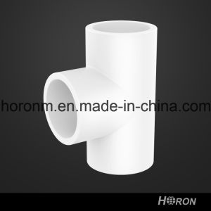Water Pipe-UPVC Tee-PVC Pipe Fitting-UPVC Sch40 Tee-PVC Tee pictures & photos
