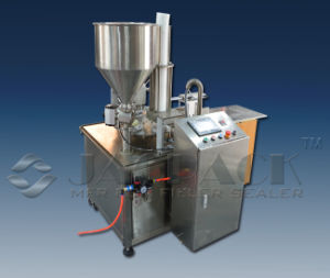 Automatic Rotary Cup Filling and Sealing Machine Servo Driven