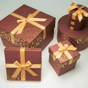 Merry Christmas Stronger Paper Jewelry Gift Packing Box pictures & photos