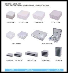 24 Cores Fiber Optic Patch Panel pictures & photos