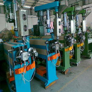 High Effective Wire Cable Jacket Sheath Extruder Machine Line pictures & photos