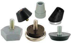 Custom Equipment Rubber Glide Feet