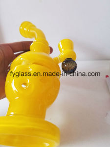 Glass Smoking Pipe Skull Oil Rig with America Color Glass Egg Dabs pictures & photos