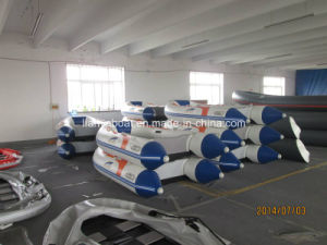 Liya PVC Boat Outboard Motor Inflatable Boat pictures & photos