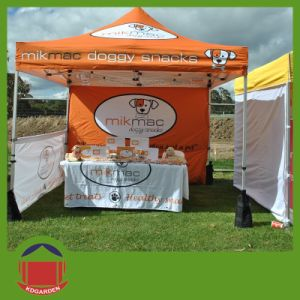 Full Printing Folding Tent with Half Wall for Event pictures & photos