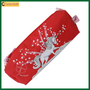 Lovely Red Polyester Pencil Case (TP-PCB010) pictures & photos