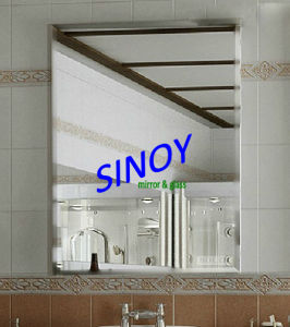 Beveled Bathroom Mirror Made in China pictures & photos