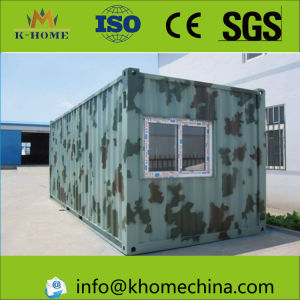 Removable Container House for Troops Office pictures & photos