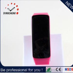 Custom Logo Silicone Wrist Digital LED Sports Bracelet Watch (DC-1169) pictures & photos