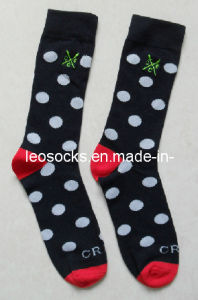 2016 New Design Men Cotton Socks (DL-MS-129) pictures & photos