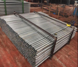 48.3mm Pre-Galvanized Steel Pipe/Steel Round Tube/Pipe pictures & photos