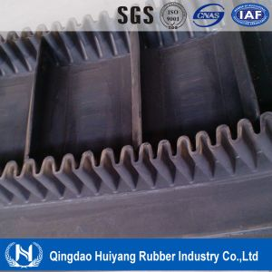 Corrugated Sidewall Cleated Rubber Conveyor Belt (S60) pictures & photos