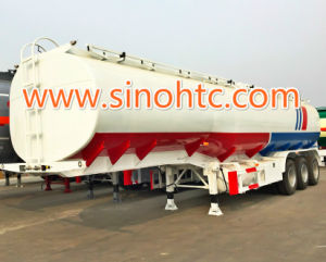 35 000-55 000L Stainless Steel Oil/ Fuel Tank Trailer pictures & photos