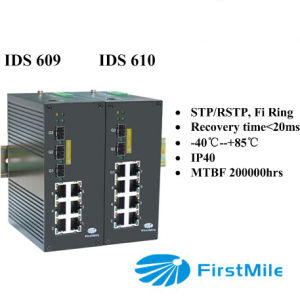 3G Ports Gigabit Advanced Managed Industrial Ethernet Switches pictures & photos