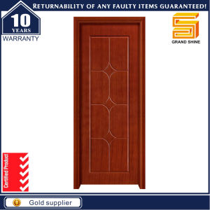 China Factory Wood Door Wooden Interior Room Door pictures & photos