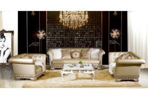 Hospitality Sofa/Hotel Living Room Sofa/Antique Sofa for 5 Star Hotel (JNS-023) pictures & photos