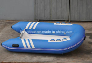 Liya 2.7m Fiberglass Electric Boat Inflatable Electric Motor Boat pictures & photos