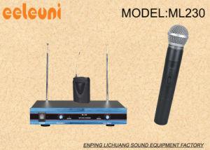 VHF Karaoke Dual Channels Wireless Microphone