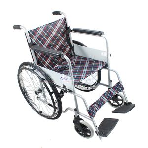 Economic Big Sales Steel Wheelchair
