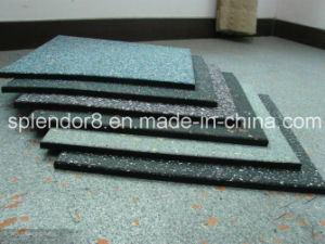 1000mm X 1000mmx20mm Rubber Flooring