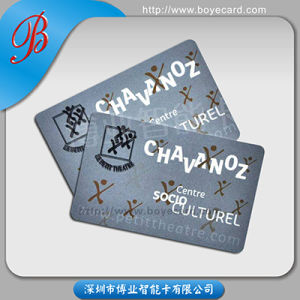 Transparent Plastic PVC Promotion Card pictures & photos