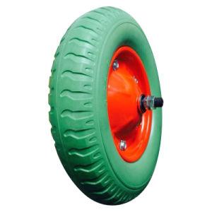 "13 Inch 13""X3.25-8 Flat Free PU Foam Wheel pictures & photos"