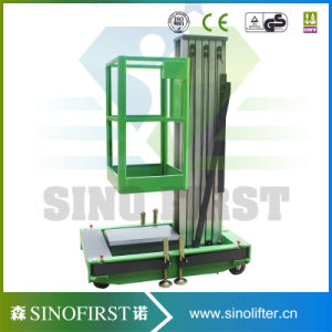12m Aluminum Alloy Vertical Man Lift Platform Mobile Lift with Ce pictures & photos