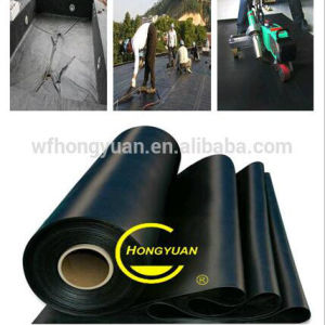 2.0 mm Thickness EPDM Waterproof Rubber Membrane for Roof/ Planting Roof /Basement /Underlayment with ISO pictures & photos