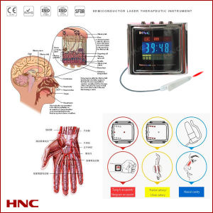 Wrist Type Semiconductor Laser Treatment Instrument Aginst Hypertension, Hyperlipaemia and Hyperviscosity pictures & photos