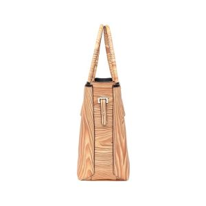 Large Wood Grain Print Casual Style Women Handbag (MBNO041019) pictures & photos
