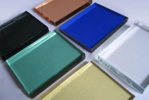 Coloured Laminated Glass (manufacturer) with SGS and CCC (JINBO) pictures & photos