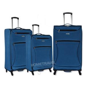 840d Nylon 4 Wheel Luggage Set pictures & photos