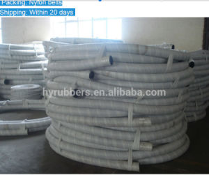 Hyrubbers Large Diameter Steel Wire Spiral Water Rubber Suction Hose pictures & photos