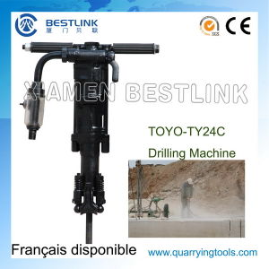 Toyo Ty24c Portable Pneumtatic Rock Drill for Vertical Drilling pictures & photos