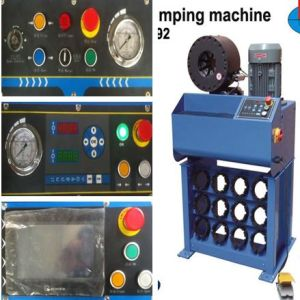 "Ce Approved Hydraulic Pipe Crimping Machine for 2"" Hose pictures & photos"