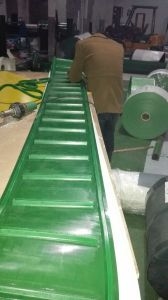 PVC PU Conveyor Belt with Sidewall/Cleat/PVC Rope/PVC Guide pictures & photos