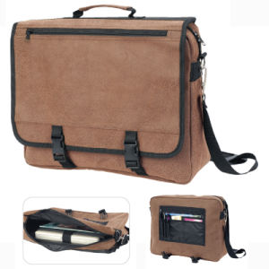 Leather Laptop Compter Business Promotional Bag pictures & photos