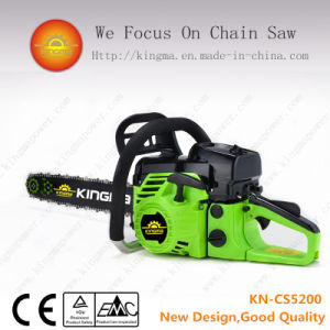 "52cc Gasoline Chain Saw with 22"" Bar and Chain pictures & photos"
