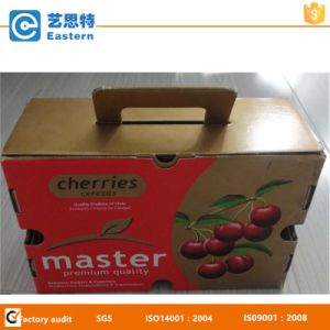 with Handle Cherry Fruit Packing Paper Box