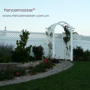 Lifetime Warranty PVC Garden Fence pictures & photos
