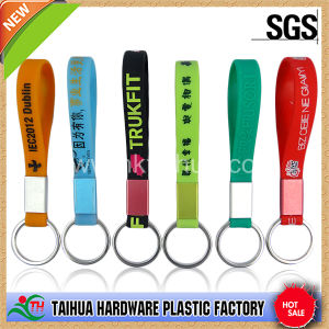 Custom Silicone Keychain / Rubber Key Chain / Key Ring (TH-6314) pictures & photos