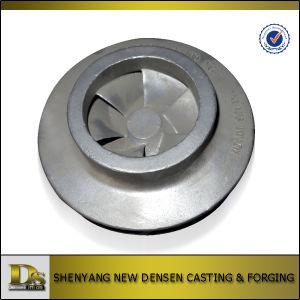 Sand Casting Steel Water Pump Impeller pictures & photos