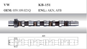 Auto Camshaft for VW (059.109.021q) pictures & photos