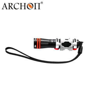 Aluminum Alloy CREE LED 75lumens Diving Torches Flashlight pictures & photos